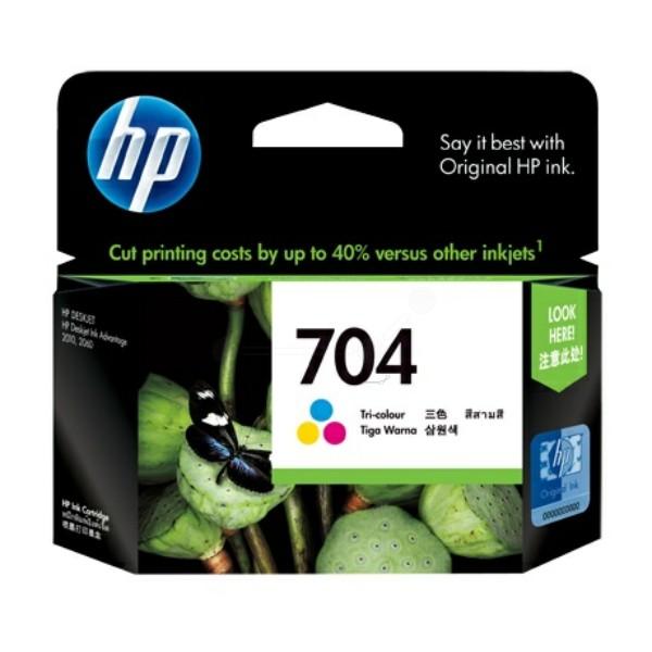 HP 704 Druckkopfpatrone color