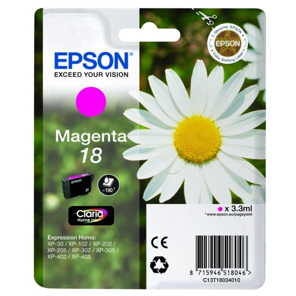 Epson 18 Tintenpatrone magenta