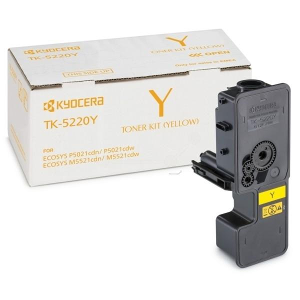 -Kyocera TK-5220 Y Toner-Kit gelb