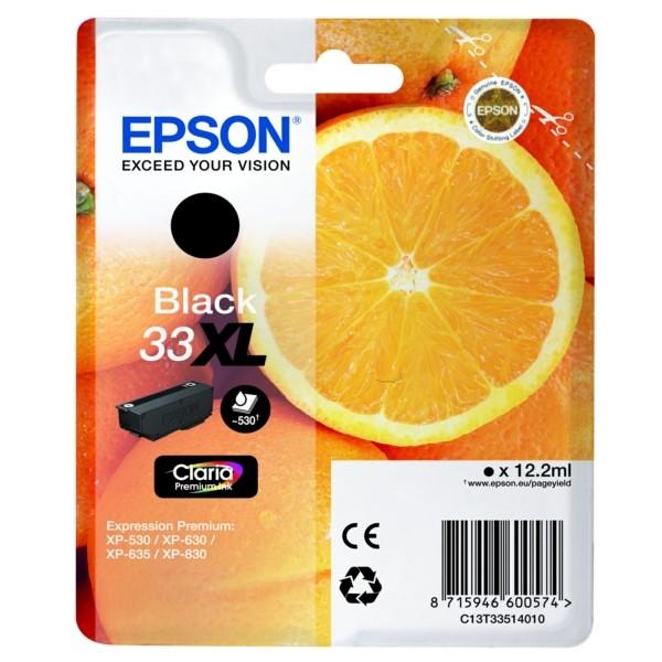 Epson 33XL Tintenpatrone schwarz