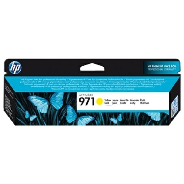HP 971 Tintenpatrone gelb
