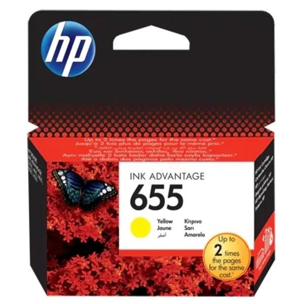 HP 655 Druckkopfpatrone gelb