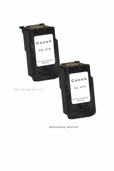 Canon PG-510 / CL-511 Spar-Set (BK,Color Alternativ