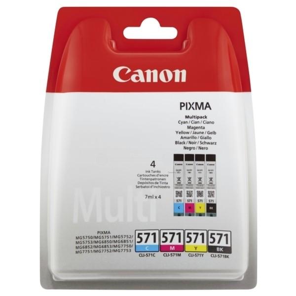 Canon 571 C/M/Y/BK Multipack
