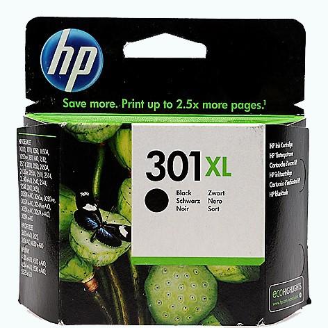 HP 301XL Druckkopfpatrone schwarz