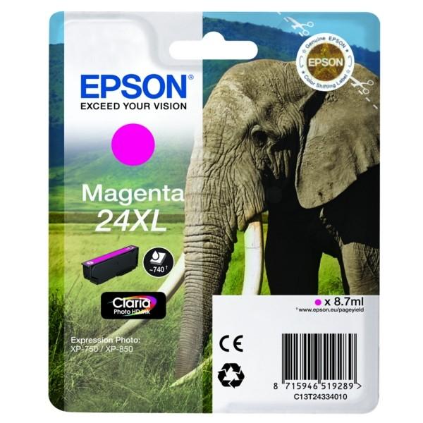 Epson 24XL Tintenpatrone magenta