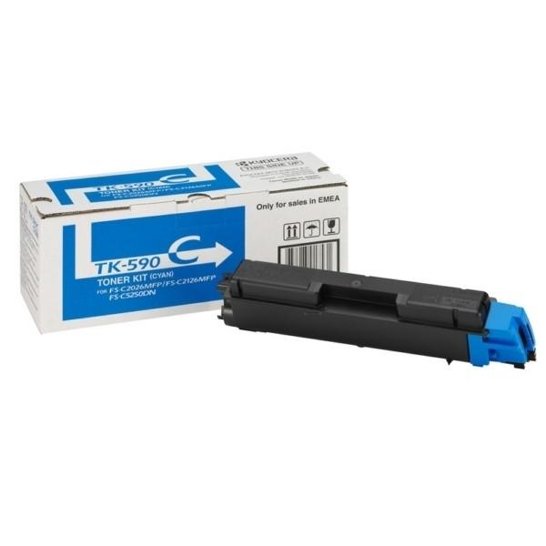 -Kyocera TK-590 C Toner-Kit cyan