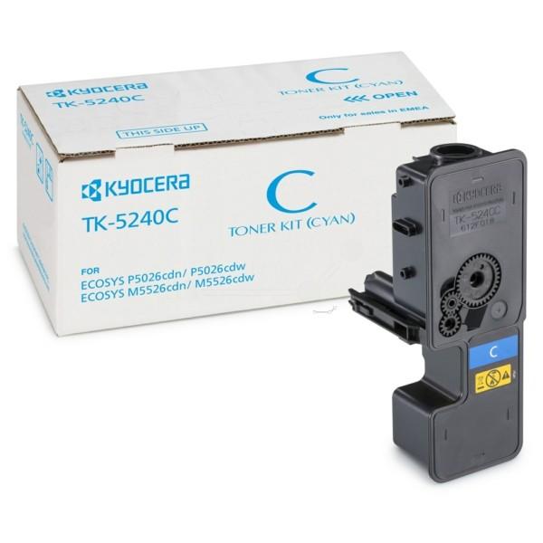 Kyocera TK-5240 C Toner-Kit cyan