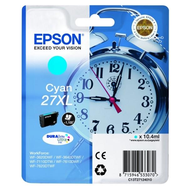 Epson 27XL cyan