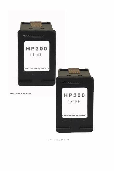 HP 300 Druckkopfpatrone Multipack schwarz + color Alternativ