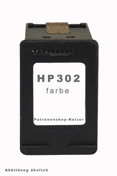 HP 302 XL Tinte Cyan, Magenta, Yellow Alternativ
