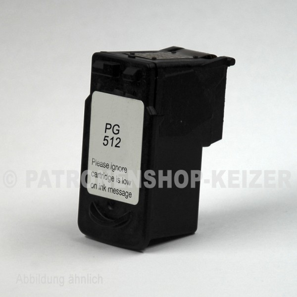Alternativ zu Canon PG-512 Tinte Black