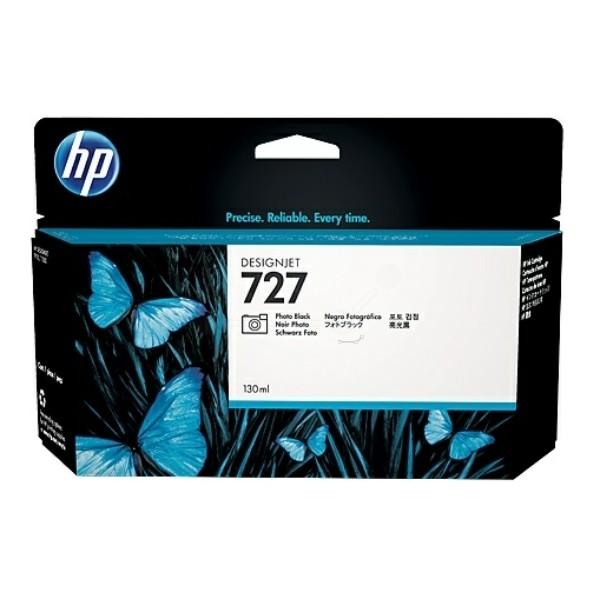 HP 727 Tintenpatrone schwarz foto