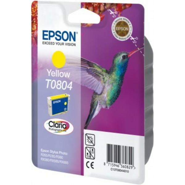 Epson T0804 Tintenpatrone gelb