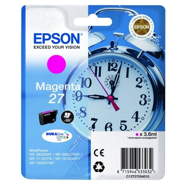 Epson 27 Tintenpatrone magenta