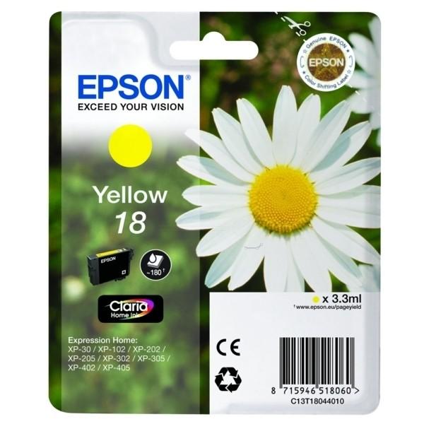 Epson 18 Tintenpatrone gelb