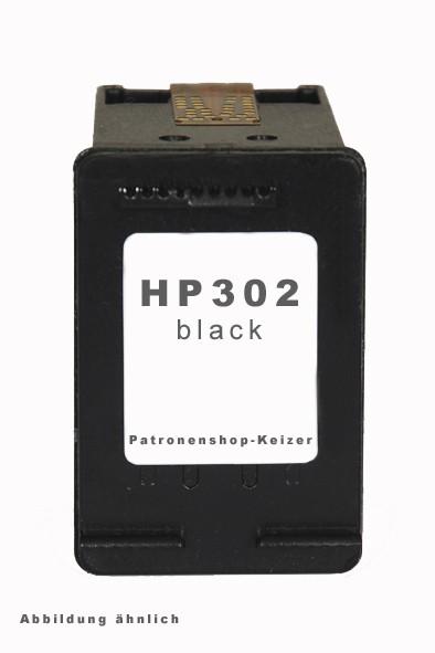 HP 302 XL Tinte Schwarz Alternativ