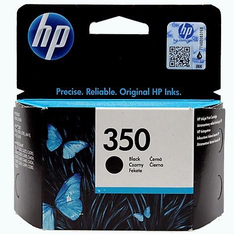 350 Original Tinte Black für HP / CB335EE / 4,5ml