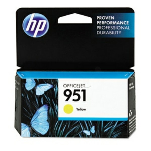 HP 951 Tintenpatrone gelb