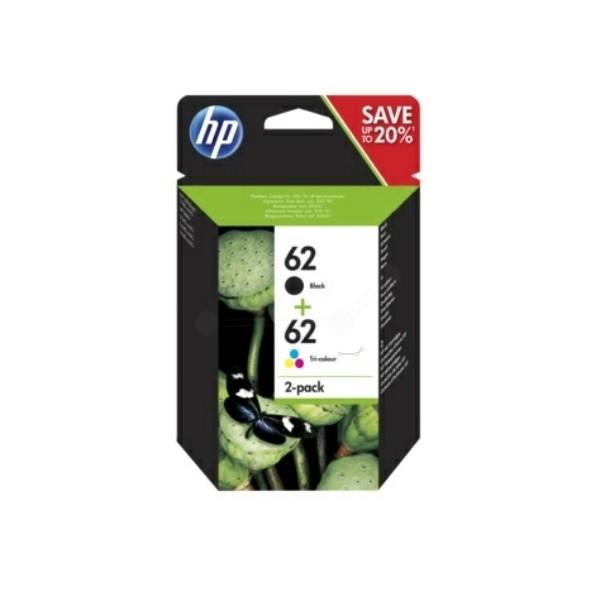 HP 62 Druckkopfpatrone Multipack schwarz + color