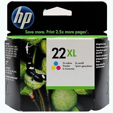 HP 22XL farbe
