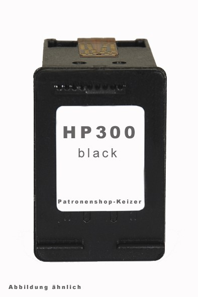 HP300 XL Tinte Black Alternativ