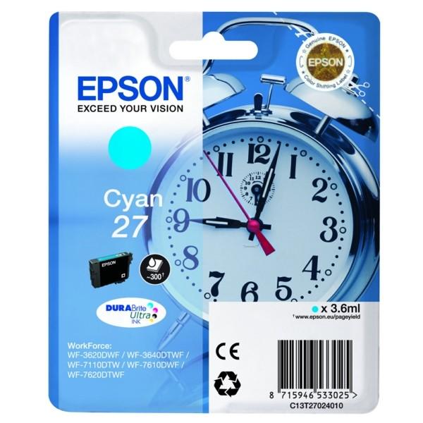 Epson 27 Tintenpatrone cyan