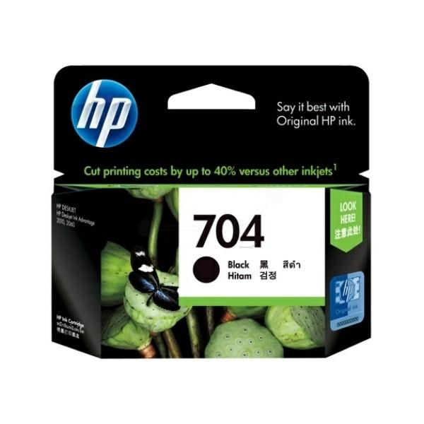 HP 704 Druckkopfpatrone schwarz