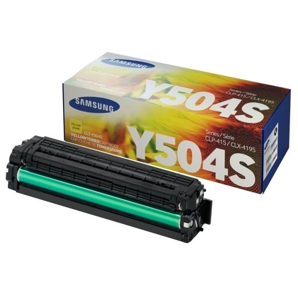 -Samsung Y504 Tonerkartusche gelb