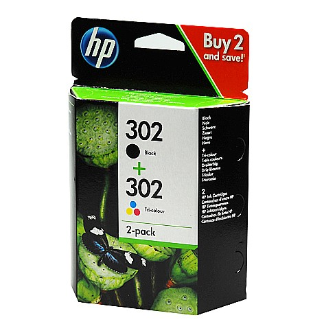 HP 302 Multipack schwarz+color