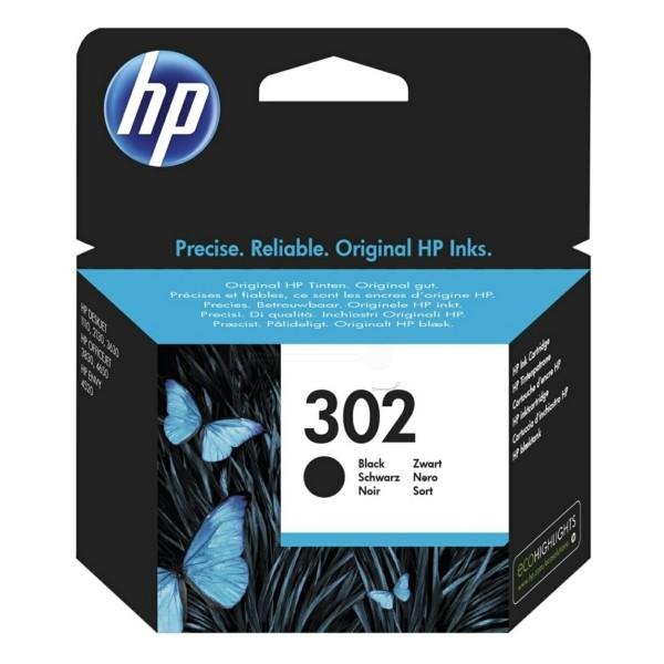 HP 302 schwarz original Druckerpatrone