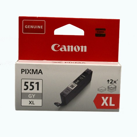 Canon 551GY XL Tintenpatronen grau