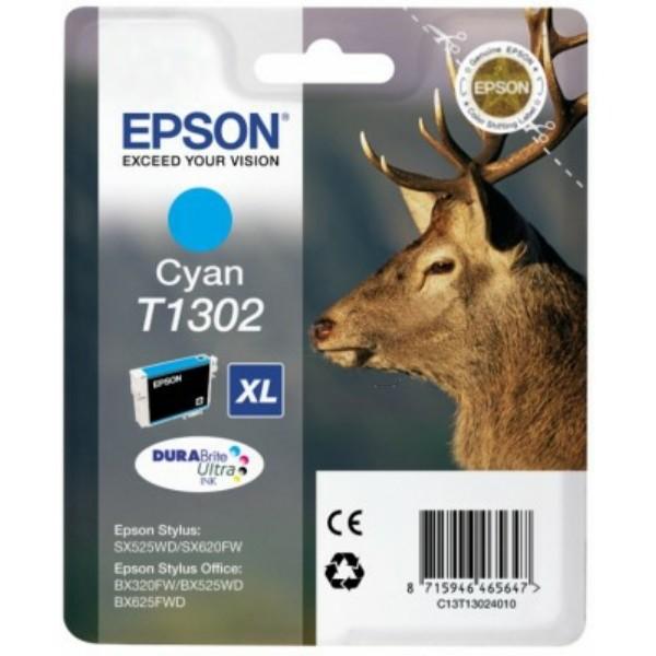 Epson T1302 Tintenpatrone cyan XL