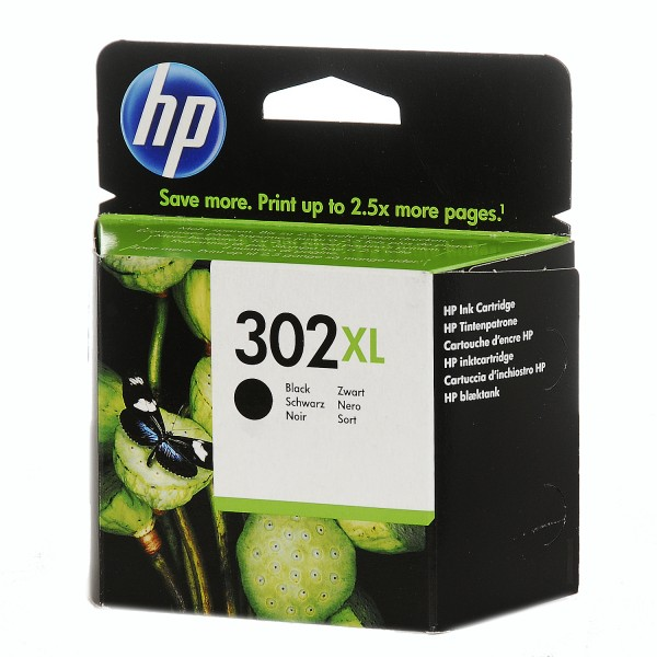 HP 302XL Druckkopfpatrone schwarz High-Capacity