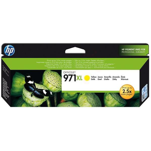 HP 971XL Tintenpatrone gelb