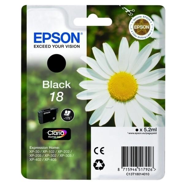 Epson 18 Tintenpatrone schwarz