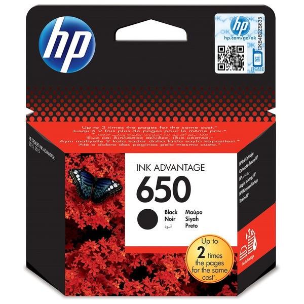 HP 650 Druckkopfpatrone schwarz