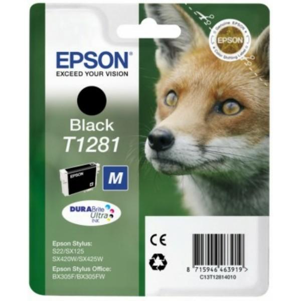 Epson T1281 Tintenpatrone schwarz