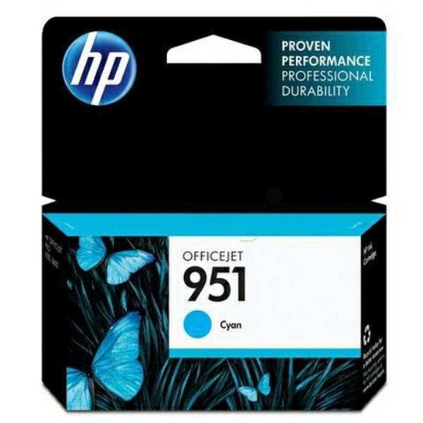 HP 951 Tintenpatrone cyan
