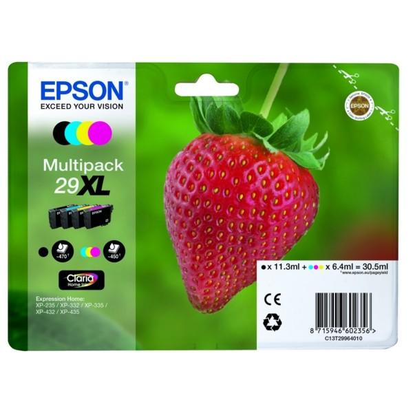 Epson 29XL Tintenpatrone MultiPack Bk,C,M,Y