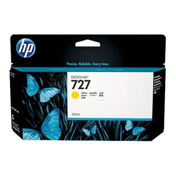 HP 727 Tintenpatrone gelb