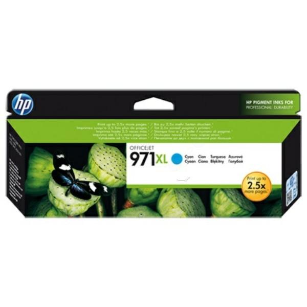 HP 971XL Tintenpatrone cyan