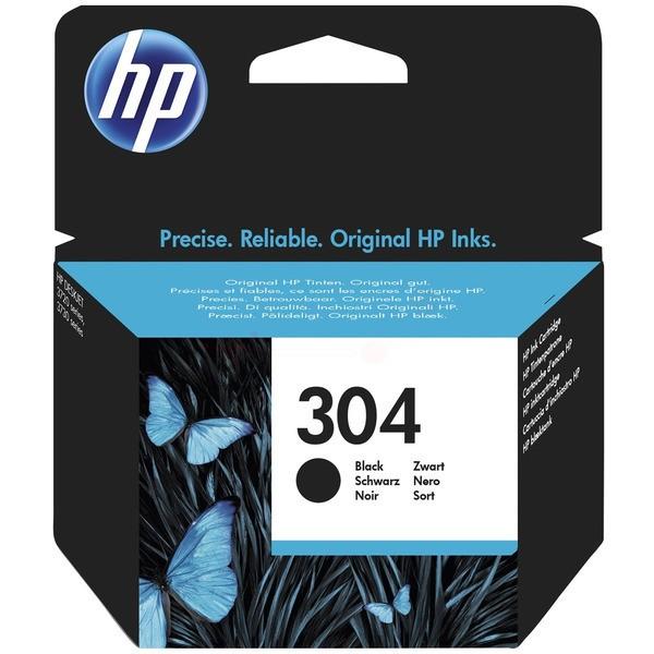 HP 304 Tintenpatrone schwarz