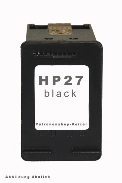 HP 27 / C8727AE Tinte Black Alternativ