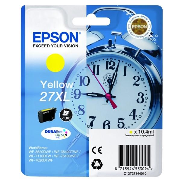 Epson 27XL Tintenpatrone gelb