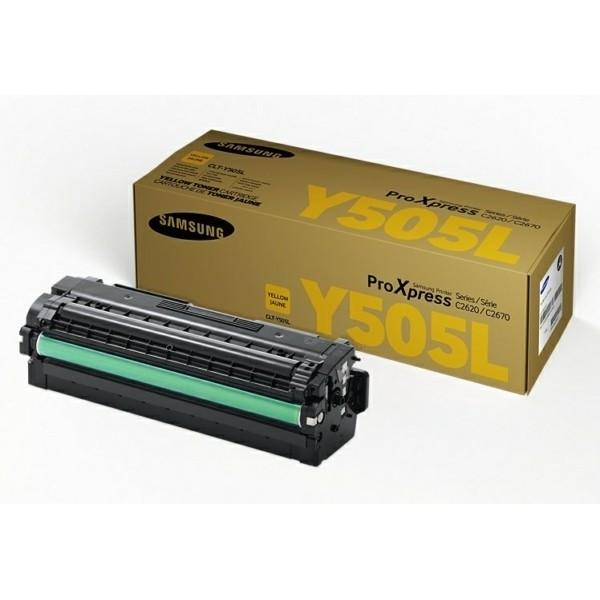 -Samsung Y505L Tonerkartusche gelb