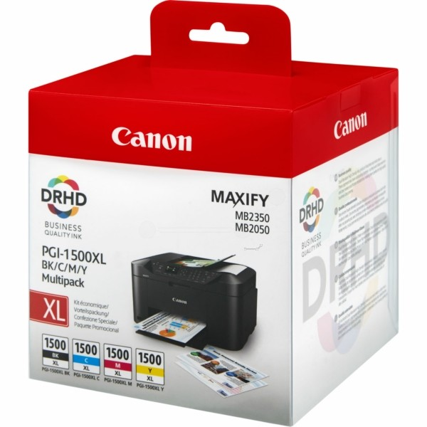 Canon PGI-1500 XLCMYBK Tintenpatrone MultiPack Bk,C,M,Y