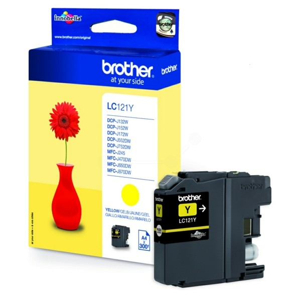 Brother LC-121 Y