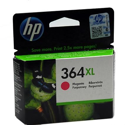 364 XL Original Tinte Magenta für HP / CB324EE / 750 Seiten