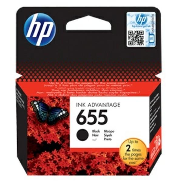 HP 655 Druckkopfpatrone schwarz